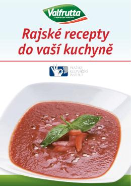 Rajské recepty do vaší kuchyně