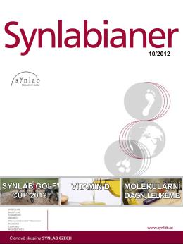 Synlabianer 10/2012 - synlab Czech Republic