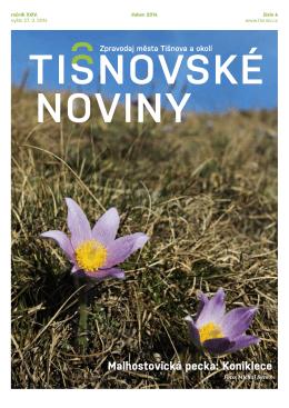 TN č. 4/2014 - Město Tišnov