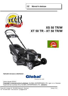 XT 50 TR/W - Zahrada a nářadí