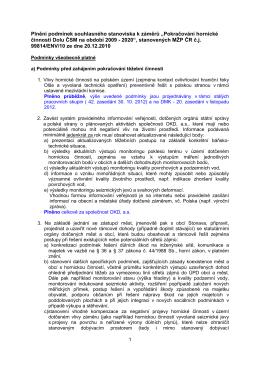 Vyhodnocení EIA - ČSM - 2013