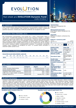 07 2014 EVOLUTION Dynamic Fund