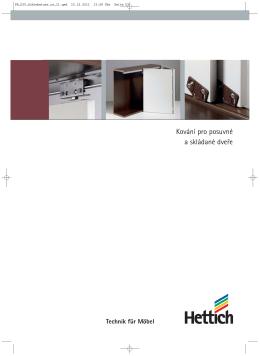 Katalog Kování pro posuvné a skládané dveře
