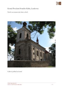 Kostel Povýšení Svatého Kříže, Loukovec