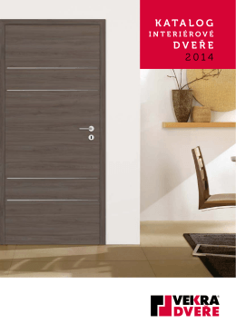 Katalog interiérové dveře