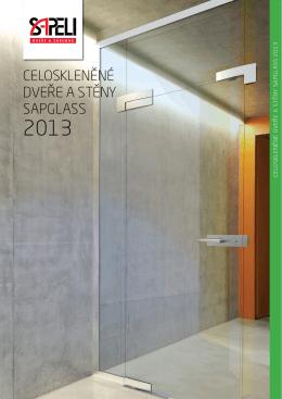 Celoskleněné dveře a stěny sapglass