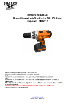 manual Aku 14,4 Li-Ion SHK315
