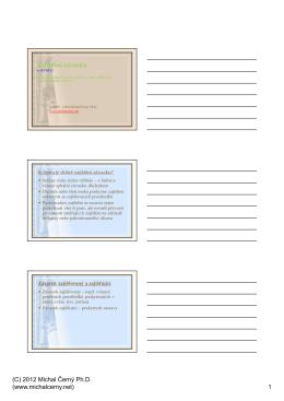 Zajištění závazku 2012