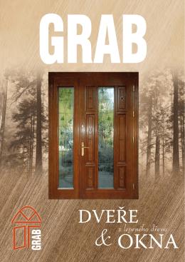 Katalog dřevěných oken Grab