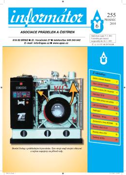 vydání č. 6 - Asociace prádelen a čistíren