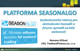 Platforma SeasonAlgo