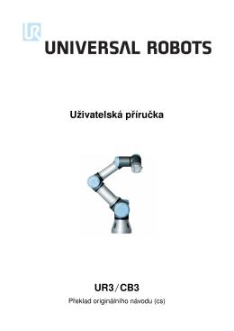 Uživatelská príruˇcka UR3/CB3