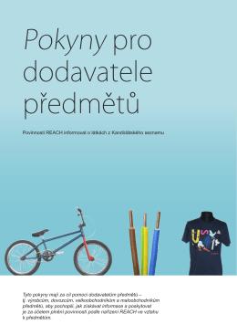 Pokyny pro dodavatele předmětů, ČJ, pdf, cca 2,3 MB