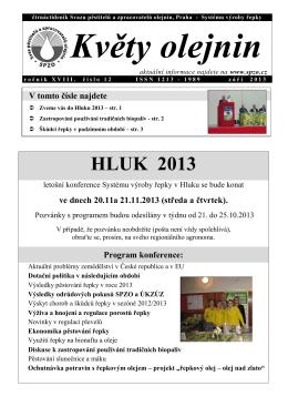HLUK 2013