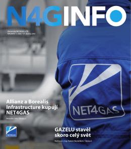 GAZELU stavěl skoro celý svět Allianz a Borealis Infrastructure