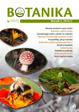 Ročník 2, 2014/2 - Botanický ústav AV ČR