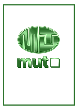 Mut Solar katalog - MUT INTERNATIONAL sro
