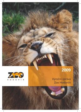 Výroční zpráva Zoo Hodonín