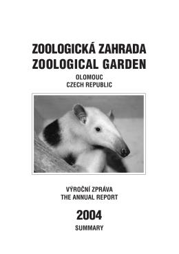 zoologická zahrada zoological garden 2004
