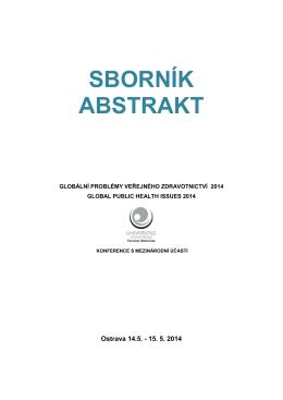 Sborník 2014 (Ostrava) - Zdravotnické právo a bioetika