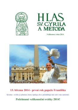 Hlas sv. Cyrila a Metoda - Velikonoce 2014