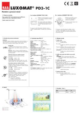 B.E.G. LUXOMAT® PD3-1C