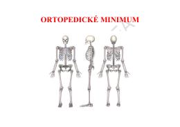 Ortopedické minimum