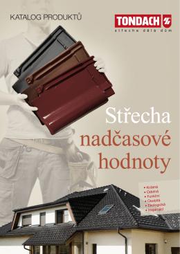 Tondach - střešní tašky, katalog produktů