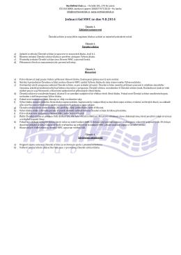 Jednací řád NWC ze dne 9.8.2014
