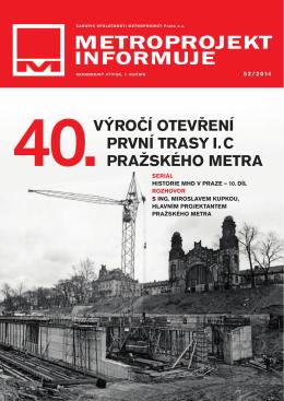 č. 02/2014 - Metroprojekt as
