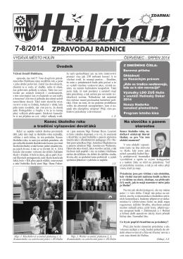 Hulíňan č. 7-8/2014