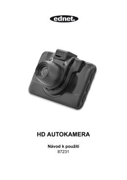 HD AUTOKAMERA Návod k použití