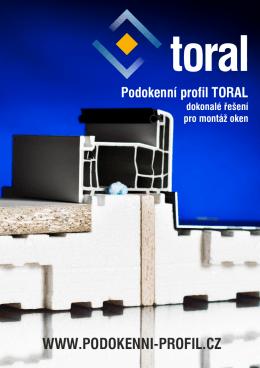 10 - Podokenní profil TORAL