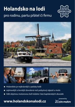 Katalog Holandsko na lodi