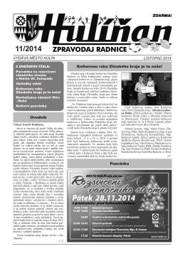 Hulíňan č. 11/2014
