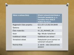 vy_32_inovace_36 - Střední zdravotnická škola a Obchodní