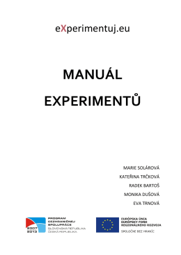 Chemie - eXperimentuj