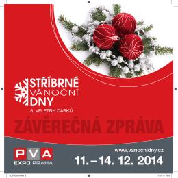 Závěrečná zpráva - stříbrné vánoční dny 2014