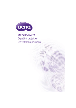 BenQ MW721 návod