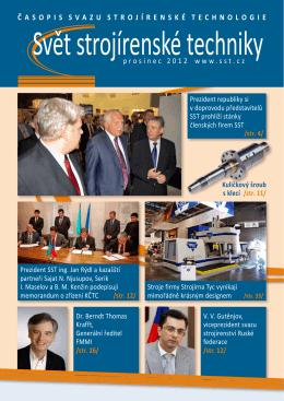 Svět strojírenské techniky číslo 4/2012 (PDF, 5.03 MB)