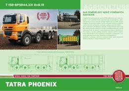 TATRA PHOENIX 8x8 zemědělský nosič nástaveb PDF