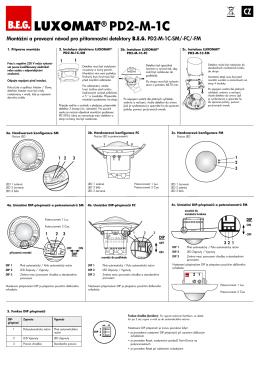 LUXOMAT® PD2-M-1C