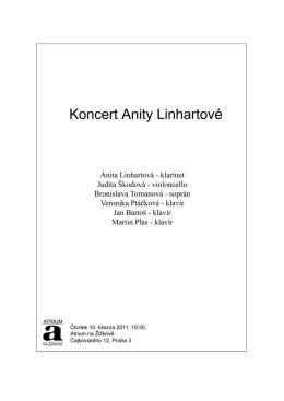 Koncert Anity Linhartové
