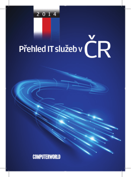 Přehled IT služeb v ČR
