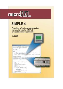 Programovací jazyk Simple 4 - praktická příručka