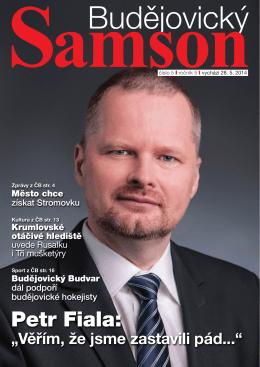 odkaz - Budějovický Samson