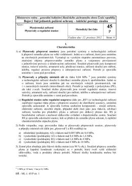 45. Plynárenská zařízení