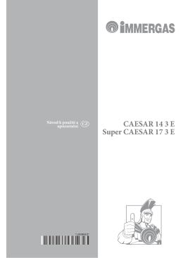 CAESAR 14 3 E Super CAESAR 17 3 E