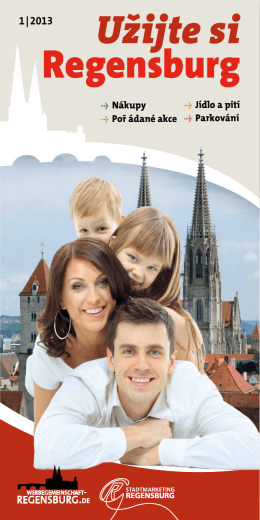 Užijte si Âegensburg - Einkaufen Regensburg