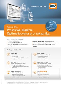 vzorová faktura s komentáři - DKV Euro Service GmbH + Co. KG